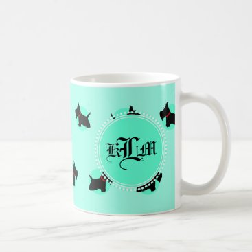 McTiffany Tiffany Aqua Scottie No 8 Coffee Mug