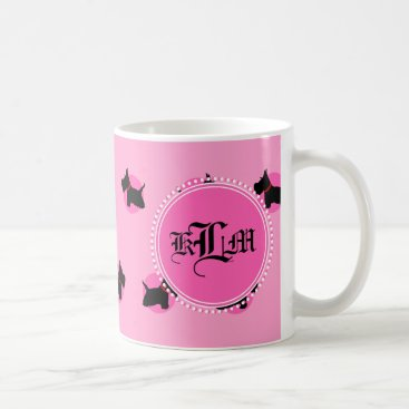 Coffee Themed Scottie No 8 Coffee Mug