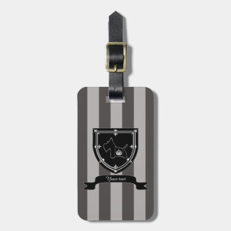 Scottie No 8 Royal Crown Tags For Luggage