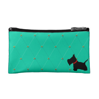 Scottie No 8 Tiffany BlueDiamonds Cosmetic Bag