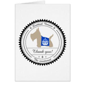 Scottie No 8 Wheaten Royal Crown Card