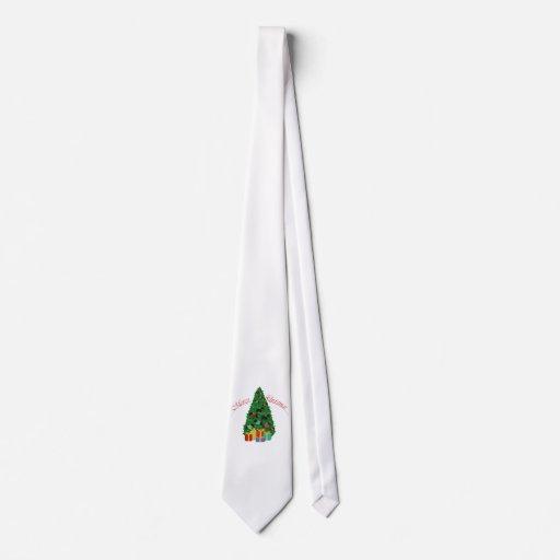 Scottie Ornaments Christmas Tree Neckties