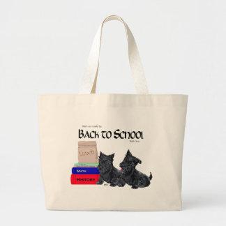 Scottie Puppies Back to School Jumbo Tote Bag