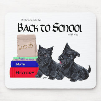Scottie Puppies Back to School Mouse Pad
