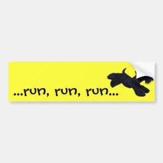 Scottie Run Bumper Sticker
