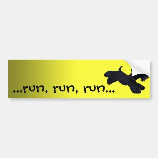 Scottie Run Bumper Stickers