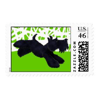 Scottie Run Postage Stamps
