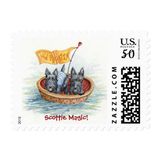 Scottie Sailors Postage