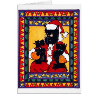 SCOTTIE SANTA CARDS
