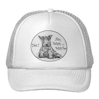 Scottie Sketch - Indecision Trucker Hat