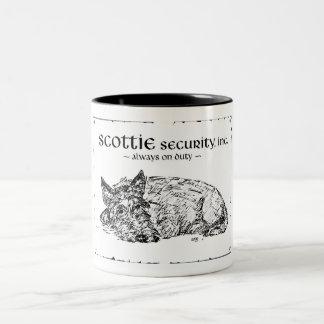 Scottie Sketch - Security? Coffee Mug