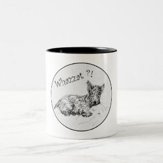 Scottie Sketch - Whazzat? Coffee Mugs