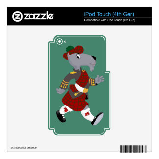 Scottie iPod Touch 4G Skin