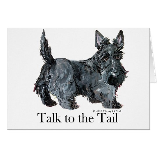 Scottie Talk to the Tail Card