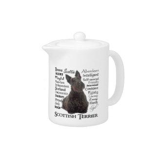 Scottie Traits Teapot