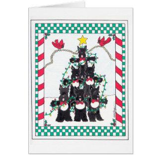 SCOTTIE TREE CARDS