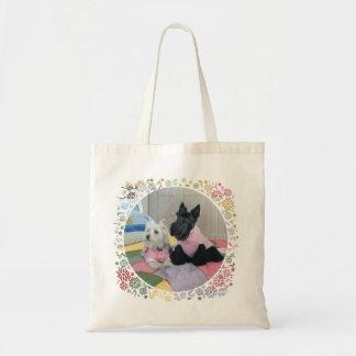 Scottie & Westie Girls' Night Bags