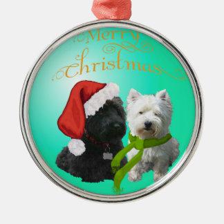 Scottie Westie Ornament