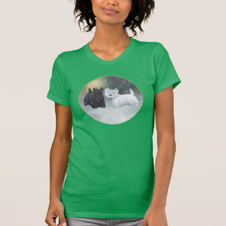 Scottie Westie Wintertime Shirt
