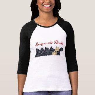 Scotties All in a Row T Shirt