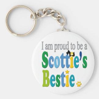 Scottie's Bestie Pride Key Chain
