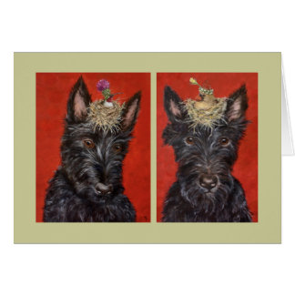 Scotties Nelli and Rosie card