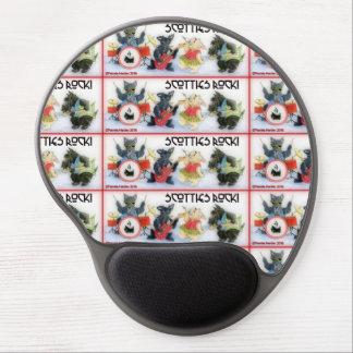 Scotties Rock Mousepad with gel wrist rest