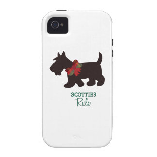 Scotties Rule Case-Mate iPhone 4 Cover