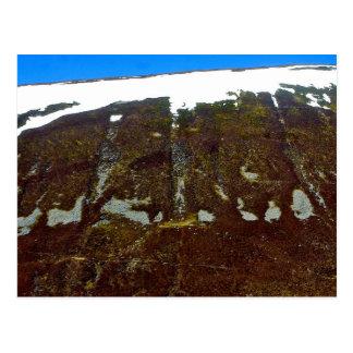 Scottish Abstract Landscape Postcard