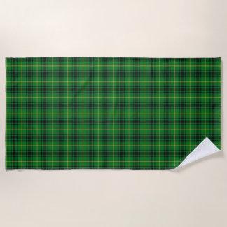 Scottish Accents Clan MacArthur Tartan Beach Towel