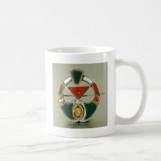 Scottish Agate Bloodstone Pin Coffee Mug