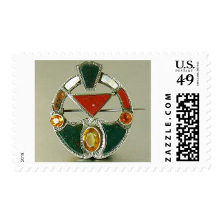 Scottish Agate Bloodstone Pin Stamps