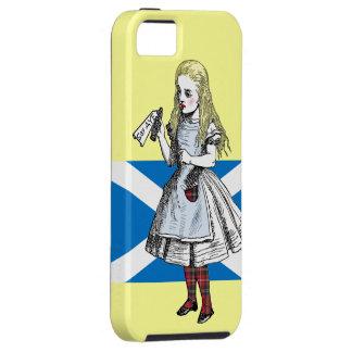 Scottish Alice in Wonderland iPhone Case