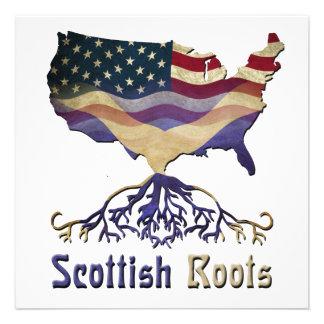 Scottish American Ancestry Invitations