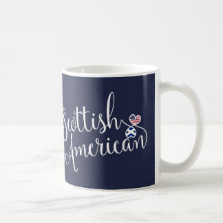Scottish American Entwined Hearts Mug