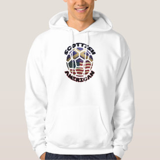 Scottish American Soccer Ball Hoodie