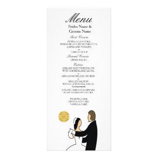 Scottish and Celtic Couple Wedding Theme Rack Card
