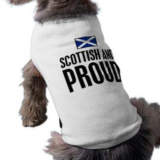Scottish and Proud Doggie Shirt