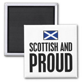 Scottish and Proud Magnet