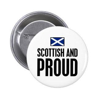 Scottish and Proud Pinback Button
