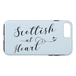 Scottish At Heart Cell Phone Case