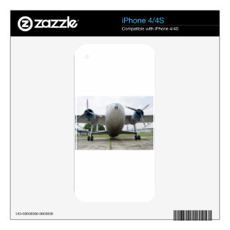 scottish aviation twin engine iPhone 4 decal