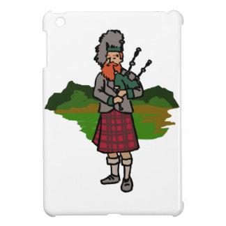 Scottish Bagpiper iPad Mini Covers