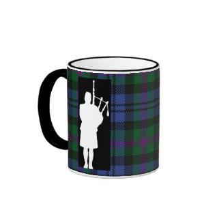 Scottish Bagpiper Ringer Coffee Mug