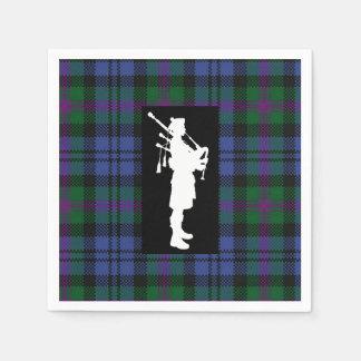 Scottish Bagpiper Napkins