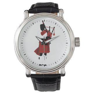 Scottish Bagpipes Wrist Watch