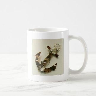 Scottish Banded Agate Anchor Mug