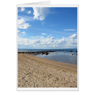 Scottish Beach 2 Card