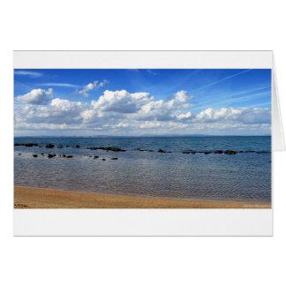 Scottish Beach Card