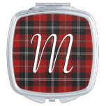 Scottish Beauty Clan Marjoribanks Tartan Plaid Vanity Mirror